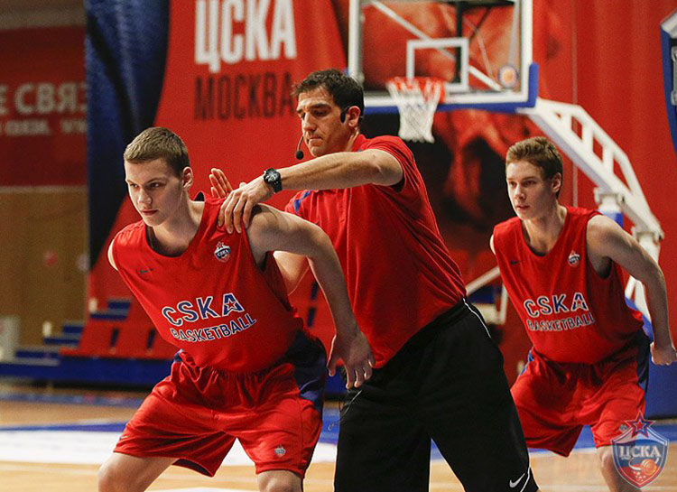 Hamstring Training and Injury Management - Kostas Chatzichristos - Photo by T. Makeeva, cskabasket.com